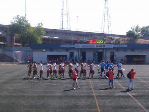Imanol Aguilar pone el gol en un partido igualado en La Canaleja