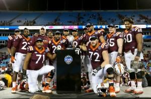 Virginia Tech stuns Arkansas in Belk Bowl 35-24