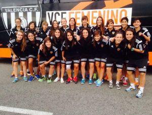 Valencia Féminas 2014/15, aspirante atodo