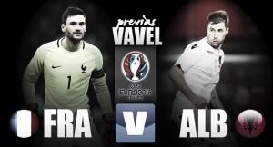 Francia - Albania: partido para despejar dudas