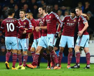 West Brom 1-2 West Ham: Hammers continue strong start