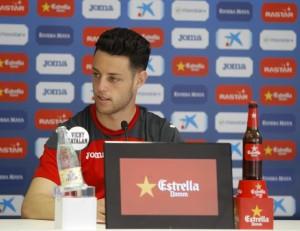 """Burgui: """"En el momento en que consigamos dos victorias, el equipo se salvará"""""""