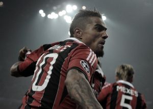 Boateng training with Milan with view to a return