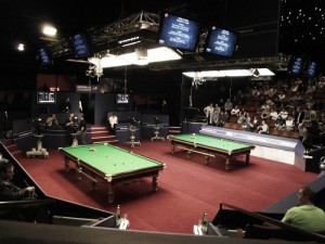 Are the tables affecting the quality of snooker at the World Championships?