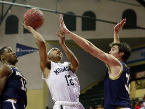 Down Goes No. 17 Notre Dame: Monmouth Soars To Advocare Invitational Semi-Finals