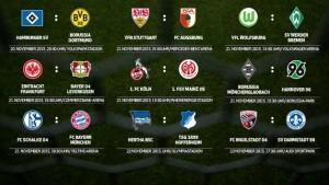 Previa de la Jornada 13 de la Bundesliga