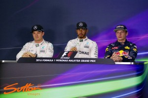 Malaysian GP: Serene Hamilton on pole from ragged Rosberg