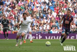 Dani García no fue el mismo en el Bernabéu