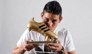 James Rodríguez, el pie de oro