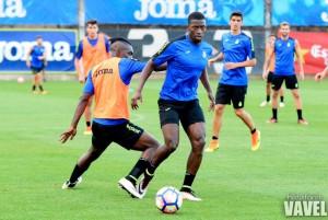 """Diop: """"Vamos a intentar preparar bien la temporada, después hablaremos de objetivos"""""""