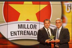 Sergio González, mejor entrenador catalán del 2015