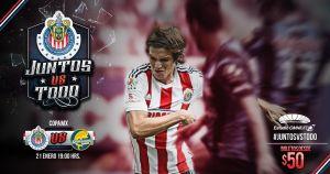 Chivas mantiene promoción en boletaje contra Dorados