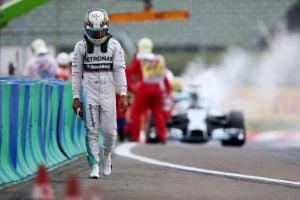 Hungaroring: pole Rosberg, Hamilton in fiamme