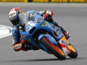 Silverstone Moto 3: Alex Rins in pole davanti ad Antonelli e Marquez