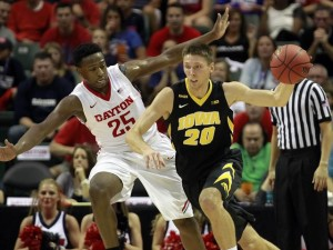 Charles Cooke III's 22 Leads Dayton To 82-77 Win Over Iowa