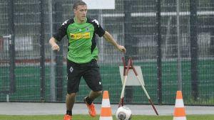 Gladbach's Kruse back in training