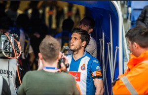 Javi López será baja frente al Sevilla por sanción