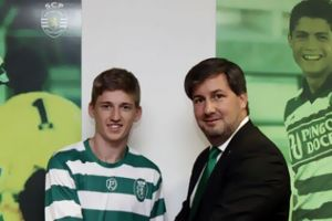 Gauld signs for Sporting Lisbon