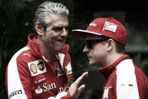 Chefe da Ferrari elogia Räikkönen e garante renovação só com boa performance