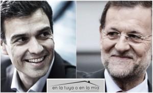 Pedro Sánchez y Rajoy, invitados estrella en el programa de Bertín