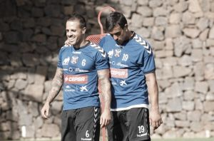 """Vitolo: """"Me quedo en el Tenerife porque quiero al Tenerife"""""""