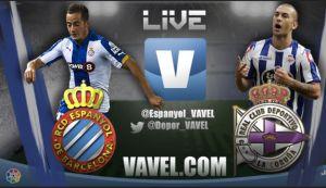 Resultado partido Espanyol vs Deportivo de la Coruña en vivo y en directo online