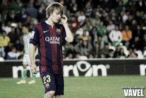 """Halilovic: """"Gracias al míster y a todo el Barcelona"""""""