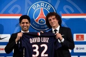 David Luiz unveiled at PSG