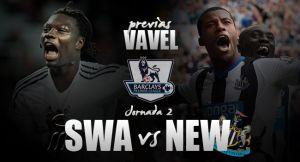 Swansea City - Newcastle United: dos púgiles que quieren pegar fuerte