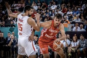 EuroBasket 2017 - La Croazia non brilla ma batte anche il Montenegro