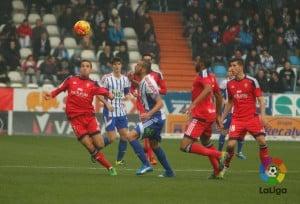 Ponferradina - Osasuna: puntuaciones del Osasuna, jornada 16 de la Liga Adelante