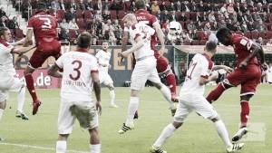 El Mainz consigue su primera victoria en un encuentro descafeinado