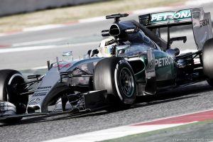 Barcellona, Hamilton inavvicinabile, miglior tempo nelle seconde libere