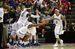Flying High: Justin Robinson Leads Monmouth Hawks To 3rd Place in Advocare Invitational