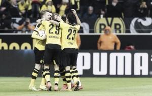 El Dortmund vence, pero echa de menos a Aubameyang