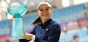 WTA Tianjin: Radwanska asfalta Kovinic e vince il torneo