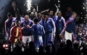 La fiesta en el Campín a cargo de la 'Tricolor'