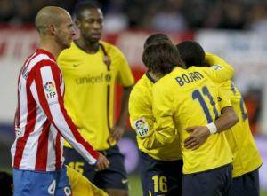 El Barcelona ya eliminó al Atlético hace unos años