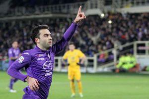 Borja Valero lidera la victoria del Fiorentina en un trepidante partido