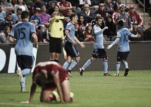 New York City FC and Chicago Fire split the points