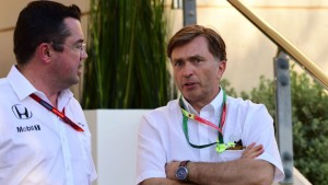 Jost Capito parts company with McLaren