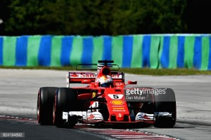 Hungarian GP: Vettel storms to Hungary pole as Ferrari lock-out the front-row