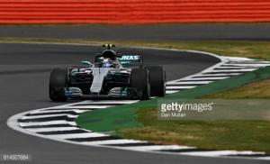 British GP: Bottas pips Hamilton for the Friday double