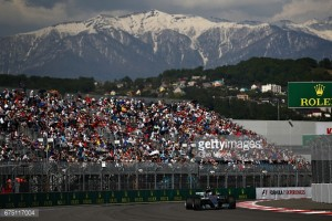 Russian GP: Bottas holds off Vettel to claim maiden win