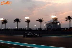 Abu Dhabi GP: Hamilton fastest in FP2 as Rosberg closes in