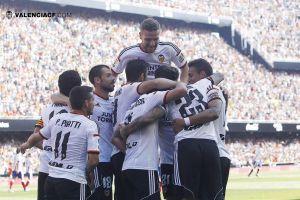 Valencia - Atlético de Madrid: puntuaciones del Valencia, jornada 7