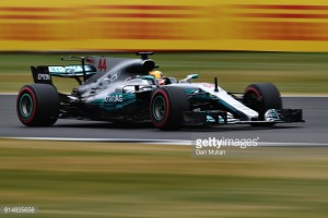 British GP: Hamilton fastest in FP3, as rain hits Silverstone