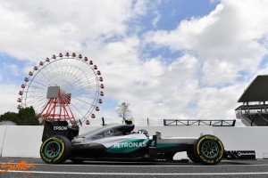 Japanese GP: Best possible start for Rosberg in FP1
