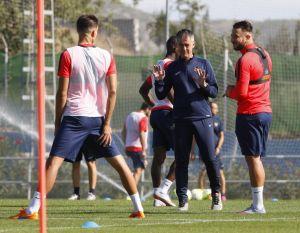 El Levante prepara el duelo contra el Barcelona
