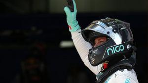 Test F1: nel Day 2 Rosberg davanti a tutti, segue Gutierrez